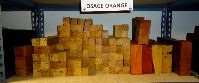 Osage Orange bowl blanks/turning squares