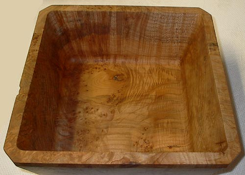 Bowls Round Amp Square English Walnut Top Left Curly