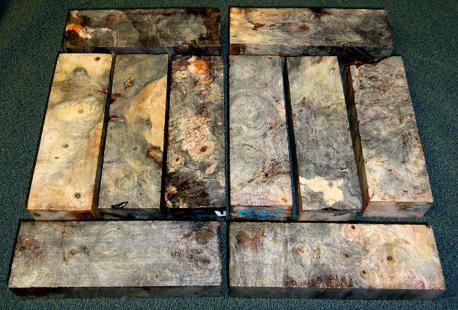 Buy Exotic Wood Knife-Handle Blanks - For Sale Online
