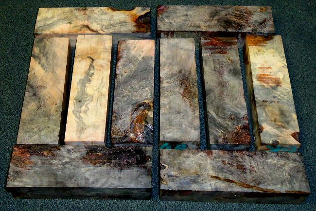 stabilized wood turning blanks