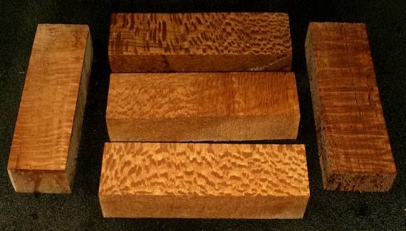 East Indian Rosewood Hawaiian Silky Oak